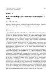 Gas chromatography–mass spectrometry (GC– MS)