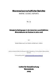 Biologische Bedingungen in der deutschen ausschließlichen ... - IOW