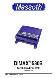 DiMAX® 530S Schaltdekoder 8156001 - Massoth