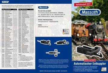 Flyer Automatischer Entkuppler (PDF 1,4MB) - Massoth