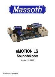 eMOTION LS Sounddekoder - Massoth
