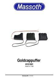 Goldcappuffer 8151501 - Massoth