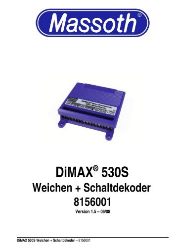 DiMAX® 530S - Massoth