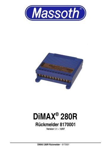 DiMAX® 280R Rückmelder 8170001 - Massoth