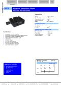 MS 30 Miniature Translation Stages with piezo ... - mechOnics ag - Page 3