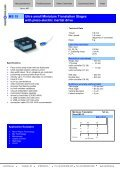 MS 30 Miniature Translation Stages with piezo ... - mechOnics ag - Page 5