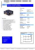 MS 30 Miniature Translation Stages with piezo ... - mechOnics ag - Page 7