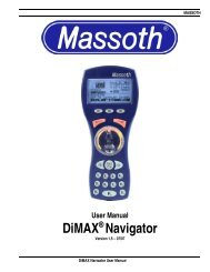 DiMAX® Navigator - Massoth