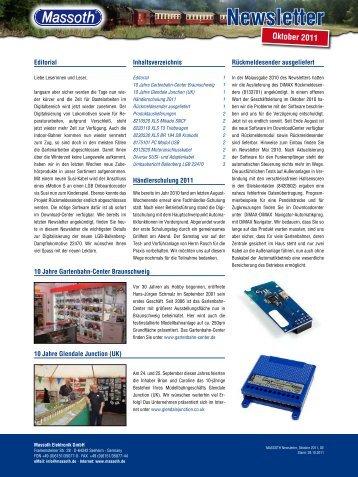 MASSOTH Newsletter, Oktober 2011