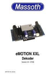 eMOTION XXL Dekoder - Massoth