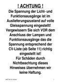eMOTION XXL Dekoder - Massoth - Page 2