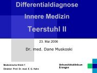 Teerstuhl II - Medizin 1