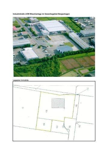 Industriehalle LKW-Waschanlage im Gewerbegebiet Bargeshagen ...