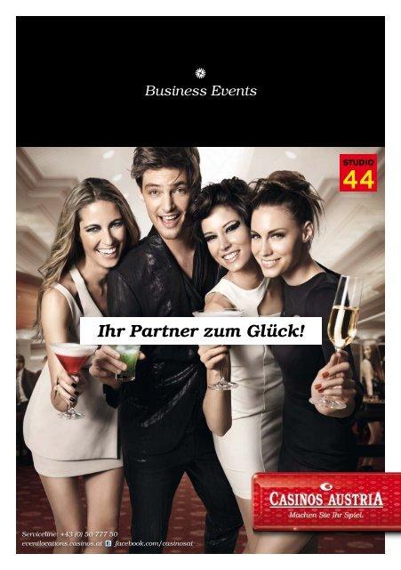 Ihr Partner zum Glück! Business Events - Casinos Austria
