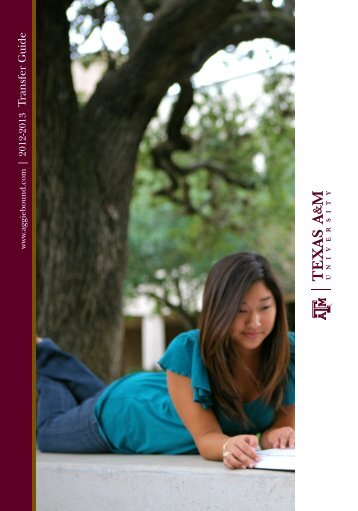 Transfer Guide - Admissions - Texas A&M University