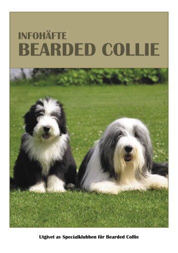 Infohäfte SBC.indd - Specialklubben för Bearded Collie