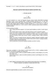 Pravilnik o zdravstvenih pogojih voznikov motornih vozil