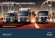 Učinkovitost v dostavnem prometu MAN TGL, TGM in TGS EURO 6