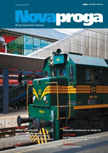 Julij-avgust - Slovenske železnice