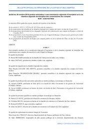 Arrêté du 26 octobre 2010 - Justice / Textes et réformes - Ministère ...