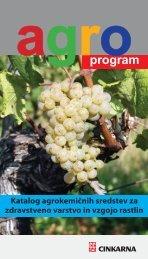 Katalog agrokemičnih sredstev za zdravstveno ... - Cinkarna Celje