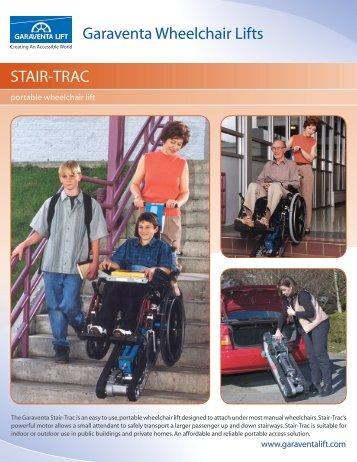 The Garaventa Stair-Trac is an easy to - Gamburd