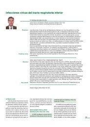 Infecciones víricas del tracto respiratorio inferior - sepeap
