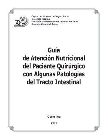 Guía de Atención Nutricional del Paciente Quirúrgico con ... - Binasss