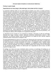 El tracto Gastro-intestinal en la Esclerosis Sistémica-Prof. László