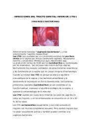 INFECCIONES DEL TRACTO GENITAL INFERIOR (ITGI)