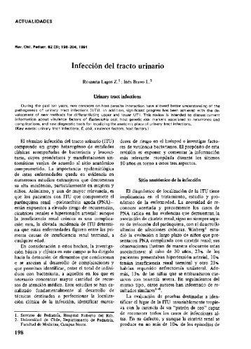 Infeccion del tracto urinario - SciELO