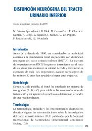 disfunción neurógena del tracto urinario inferior - European ...