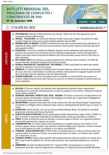 Setembre Nº 30 - Escola de Cultura de Pau - Universitat Autònoma ...