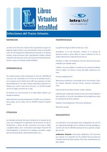 Infecciones del Tracto Urinario. - IntraMed