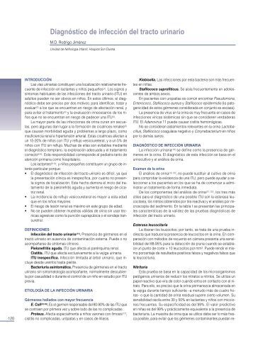 Diagnóstico de infección del tracto urinario - sepeap