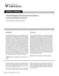 ARTÍCULO ORIGINAL Neurofisiología del tracto ... - edigraphic.com