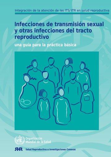 Infecciones de transmisión sexual y otras infecciones del tracto ...