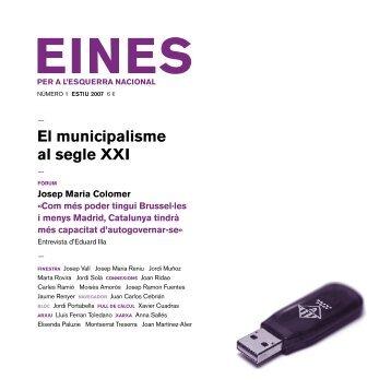 01. El municipalisme al segle XXI - Fundació Josep Irla