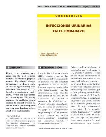 INFECCIONES URINARIAS EN EL EMBARAZO - Binasss