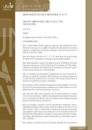 disposicion tecnico registral nº 6/79 tracto abreviado. art. 16 ... - UNAV