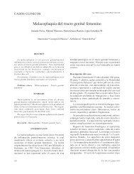 Malacoplaquia del tracto genital femenino