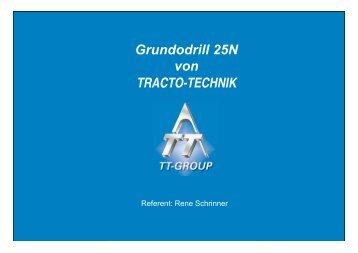GRUNDODRILL 25 N Vorstellung - Tracto-Technik