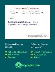 Ecología microbiana del tracto digestivo en la ... - edigraphic.com