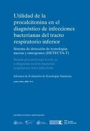 Utilidad de la procalcitonina en el diagnóstico de ... - Sergas