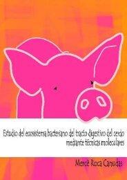 Estudio del ecosistema bacteriano del tracto digestivo del cerdo ...