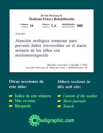 Atención urológica temprana para prevenir daños ... - edigraphic.com