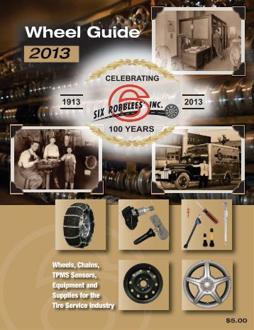 2012-2013 Wheel Catalog - Six Robblees