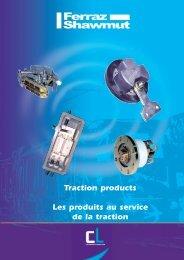 Traction products Les produits au service de la traction - Mersen