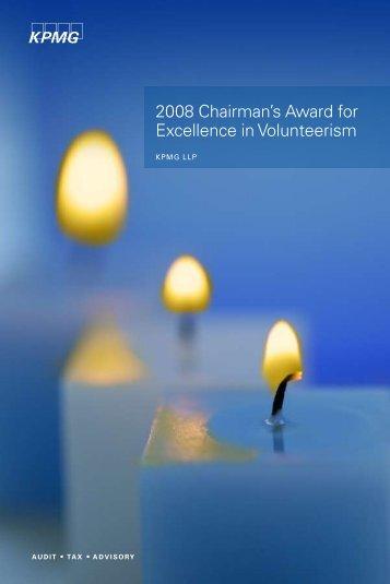 KPMG National Chairman's Award winner - Conrad Caplin