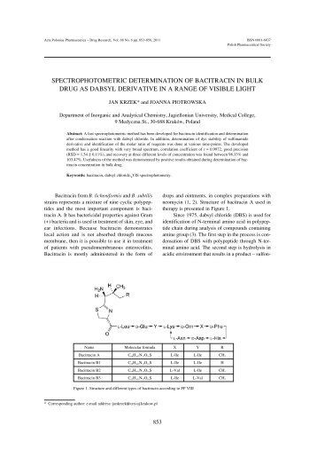 thesis in spectrophotometric drive regarding drugs